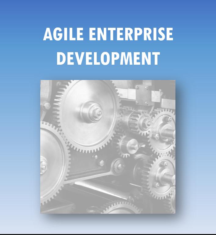 Agile Enterprise Development: in elkaar grijpende raderen